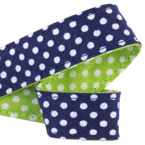 attache-doudou-serviette-pois-marine