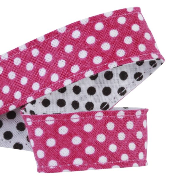 attache-doudou-serviette-pois-rose