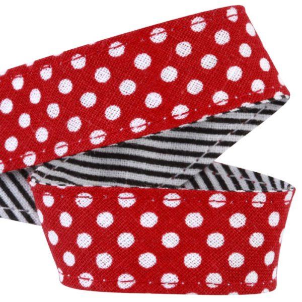 attache-doudou-serviette-pois-rouge
