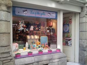 exterieur magasin Les ptits guilis à vannes