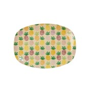 mini plateau en mélamine ananas