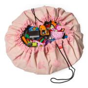 sac à jouet play and go éléphant rose
