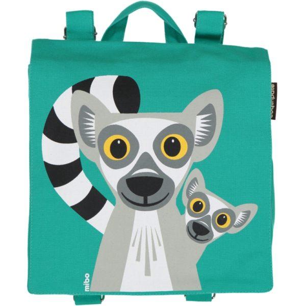 sac à dos lémurien