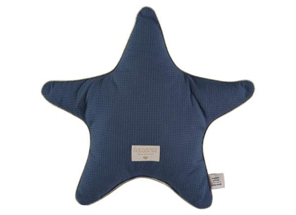 coussin étoile night blue nobodinoz