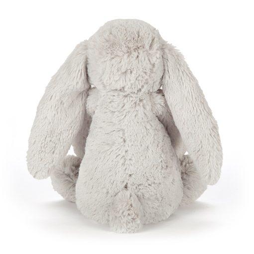 doudou lapin fleuri gris Jellycat