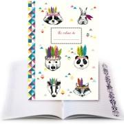 cahier panda cartes d'art