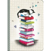 carnet chat cartes d'art