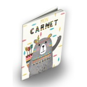 carnet ourson cartes d'art