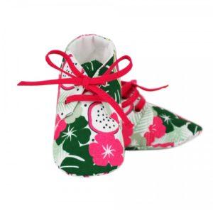 chaussons tissu aloha