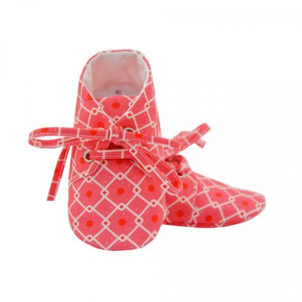 chaussons tissu lait fraise miniyou