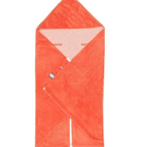 couverture orange corail snoozebaby