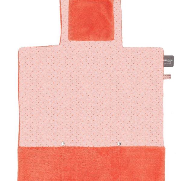 tapis-change-orange-corail-snoozebaby