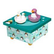 boîte à musique pingouins trousselier
