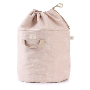 sac à jouet bubble rose nobodinoz