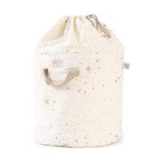 sac à jouet star naturel nobodinoz