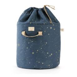 sac à jouet stella night blue nobodinoz