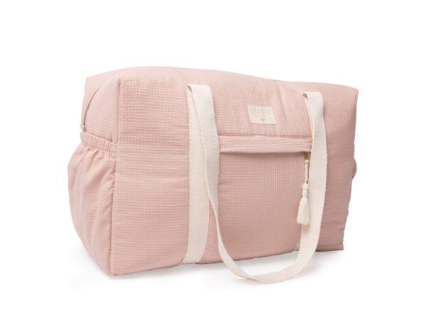 sac à langer misty pink nobodinoz