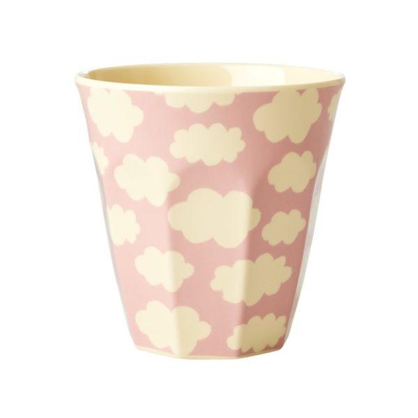 mug nuage rose rice
