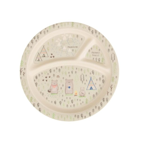 assiette bambou camper sass and belle