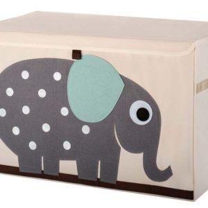 coffre a jouet elephant 3 sprouts