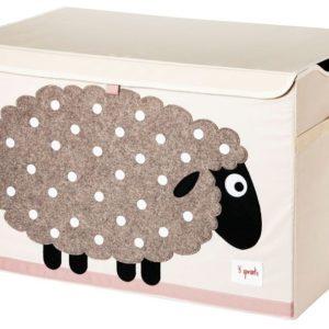 coffre a jouet mouton 3 sprouts