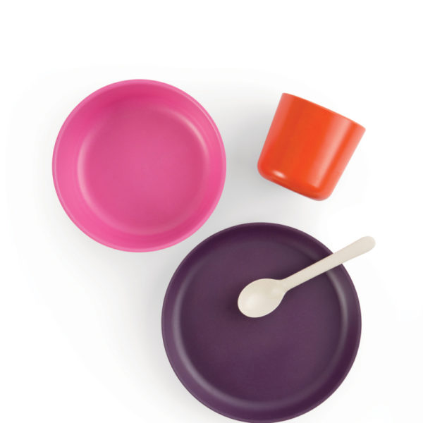set vaisselle prune ekobo