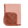 couverture dusty rose snoozebaby