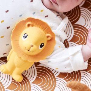 hochet dentition lion petit monkey