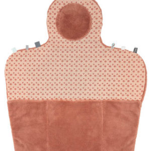 tapis change dusty rose snoozebaby