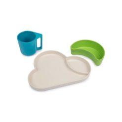 set de vaisselle nuage vert tumtum