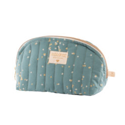 trousse de toilette gold confetti magic green nobodinoz