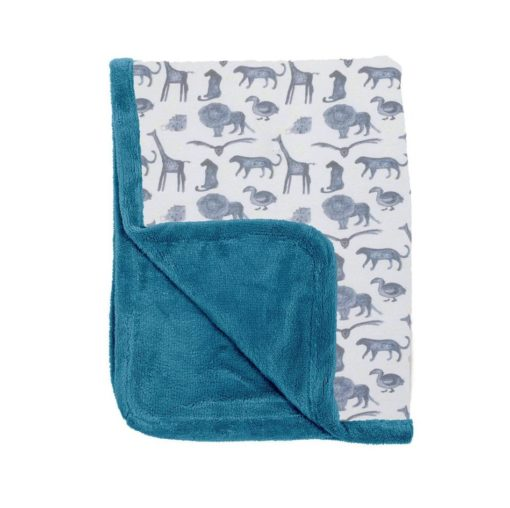 couverture storm blue snoozebaby