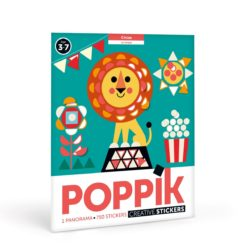 poster gommettes circus poppik