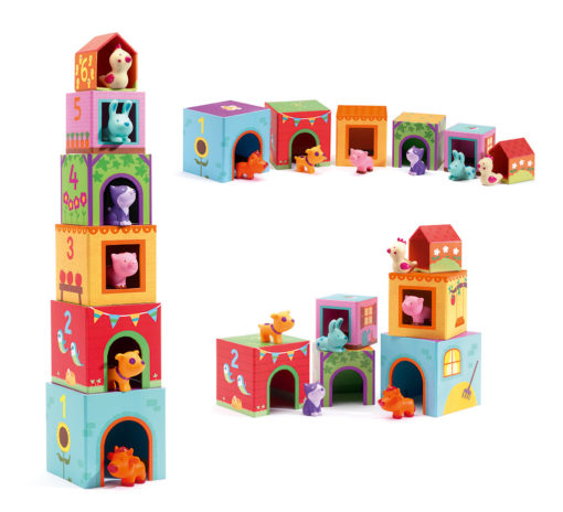 cubes a empiler topanifarm djeco