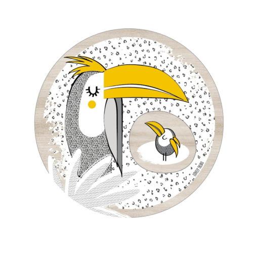 patère toucan lovely tribu