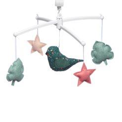 mobile oiseau folk pouce et lina