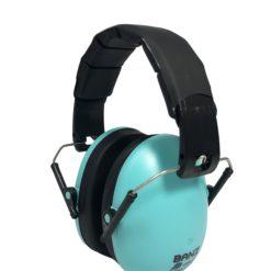 casque anti bruit turquoise banz