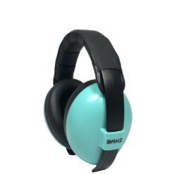 casque anti bruit bebe turquoise banz