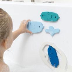 puzzle bain baleines quut