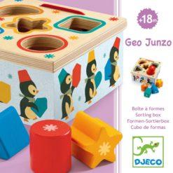 boîte à formes geo junzo djeco