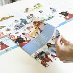 poster stickers frise historique poppik