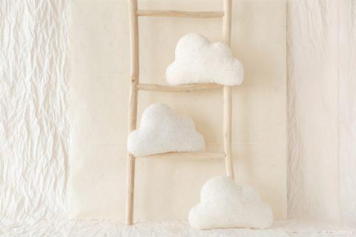 coussin nuage sweet dots nobodinoz