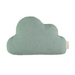 coussin nuage eden green nobodinoz