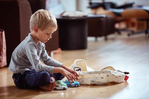 sac a jouet mini cars play and go
