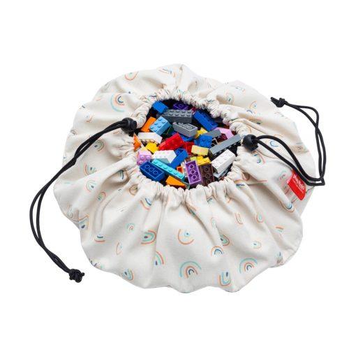 sac a jouet mini rainbow play and go
