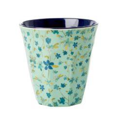 mug fleurette bleu rice