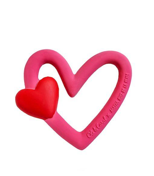 coeur en caoutchouc oli and carol
