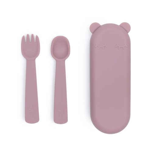 couverts silicone rose we might be tiny