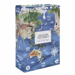 puzzle discover the world londji