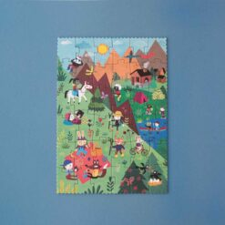 puzzle let's go to the mountain londji